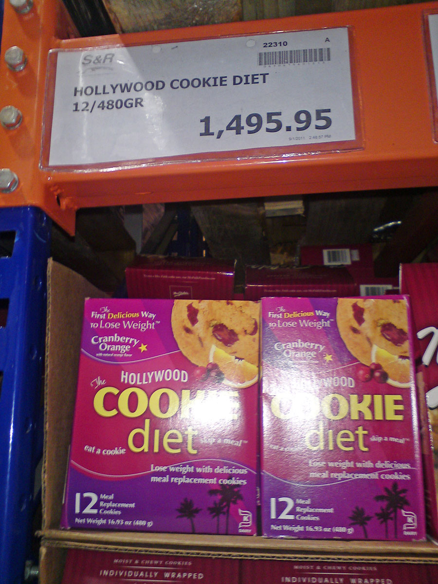 The Hollywood Cookie Diet
