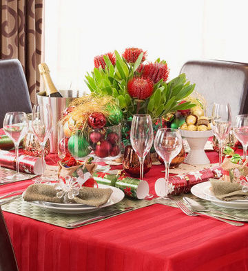Dreaming Of A Christmas Table Setting