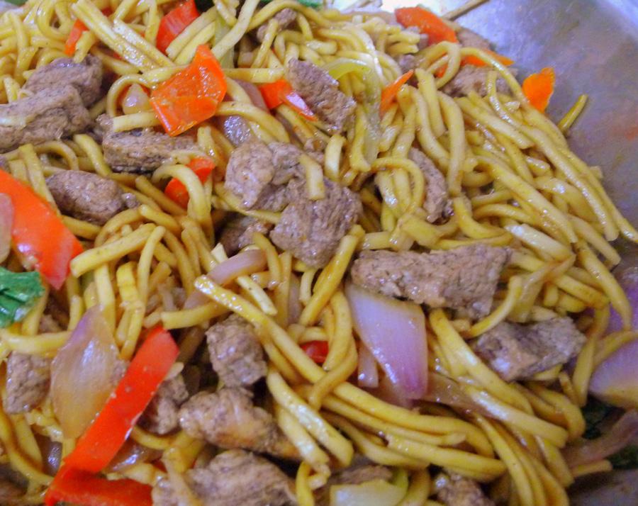 Five Spice Pork Noodles - THE BRIGHT SPOT