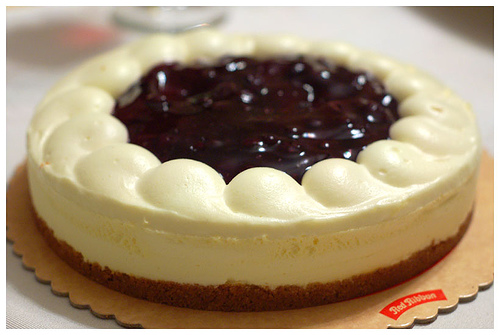 I Found The Best Blueberry Cheesecake At Facebook The