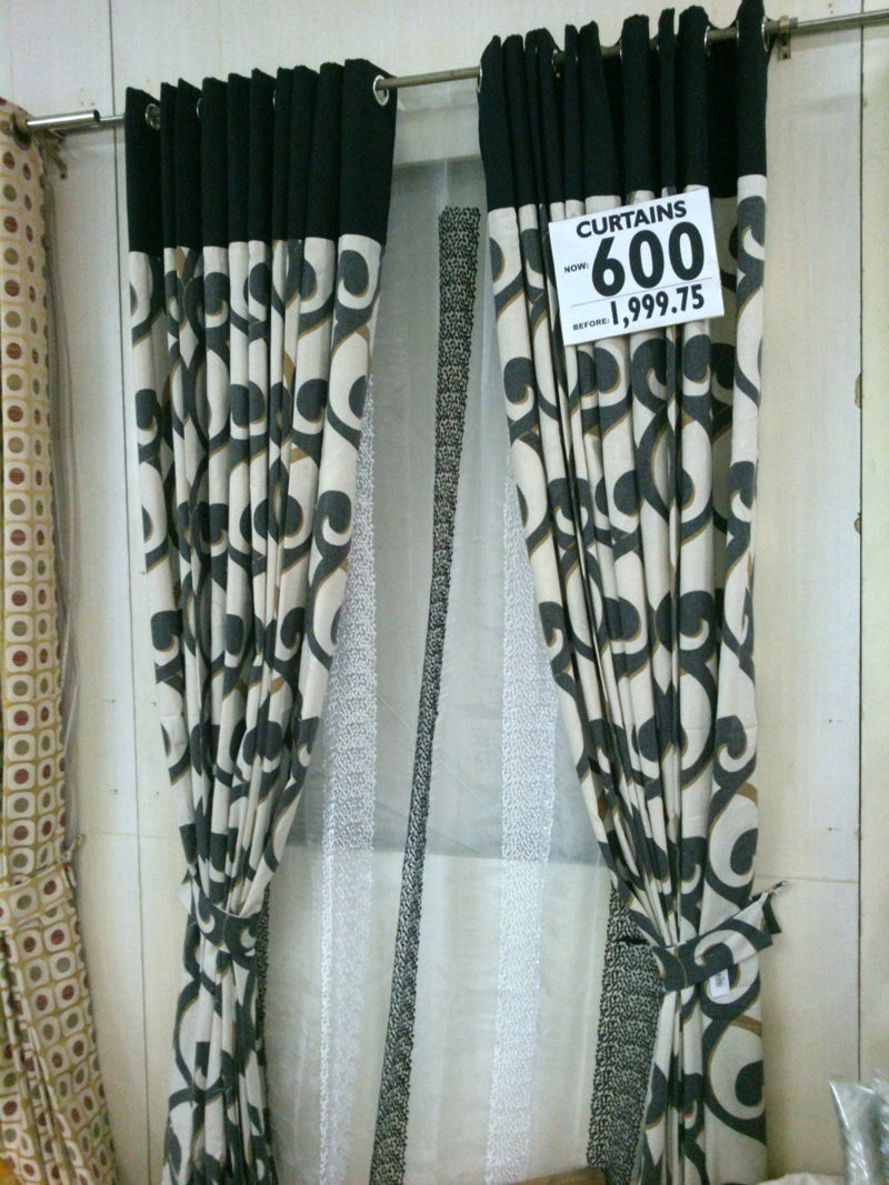 Throw Pillows Divisoria : ARQ Curtains Annual Bodega Sale The Bright Spot