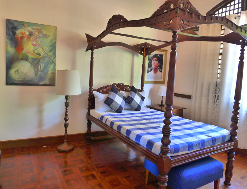 Sen. Bongbong's bedroom