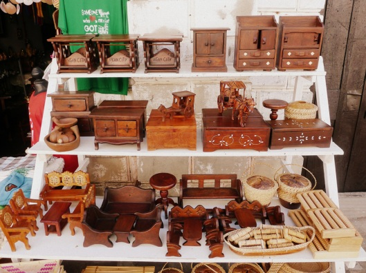 Mini version of Ilocos furniture made of hard wood.  Perfect for doll houses.