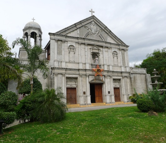 There is a parish inside Balai Isabel that dates back to the 17th century (colonial period).  It's open to the public.
