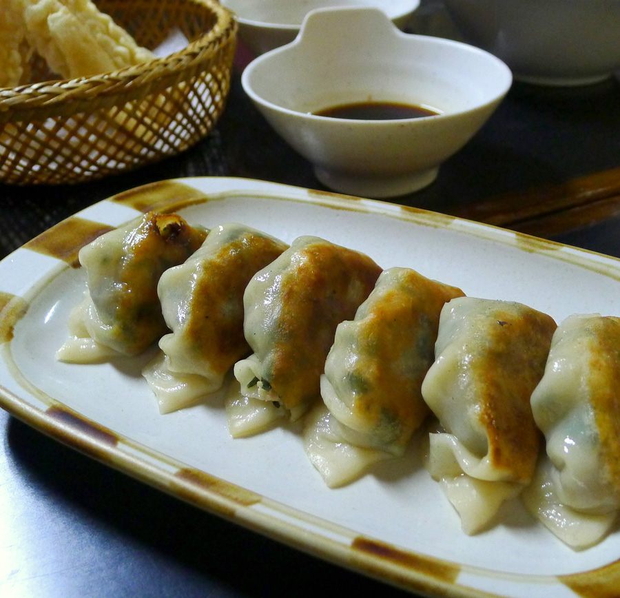 Gyoza (forgot to take note of the price)