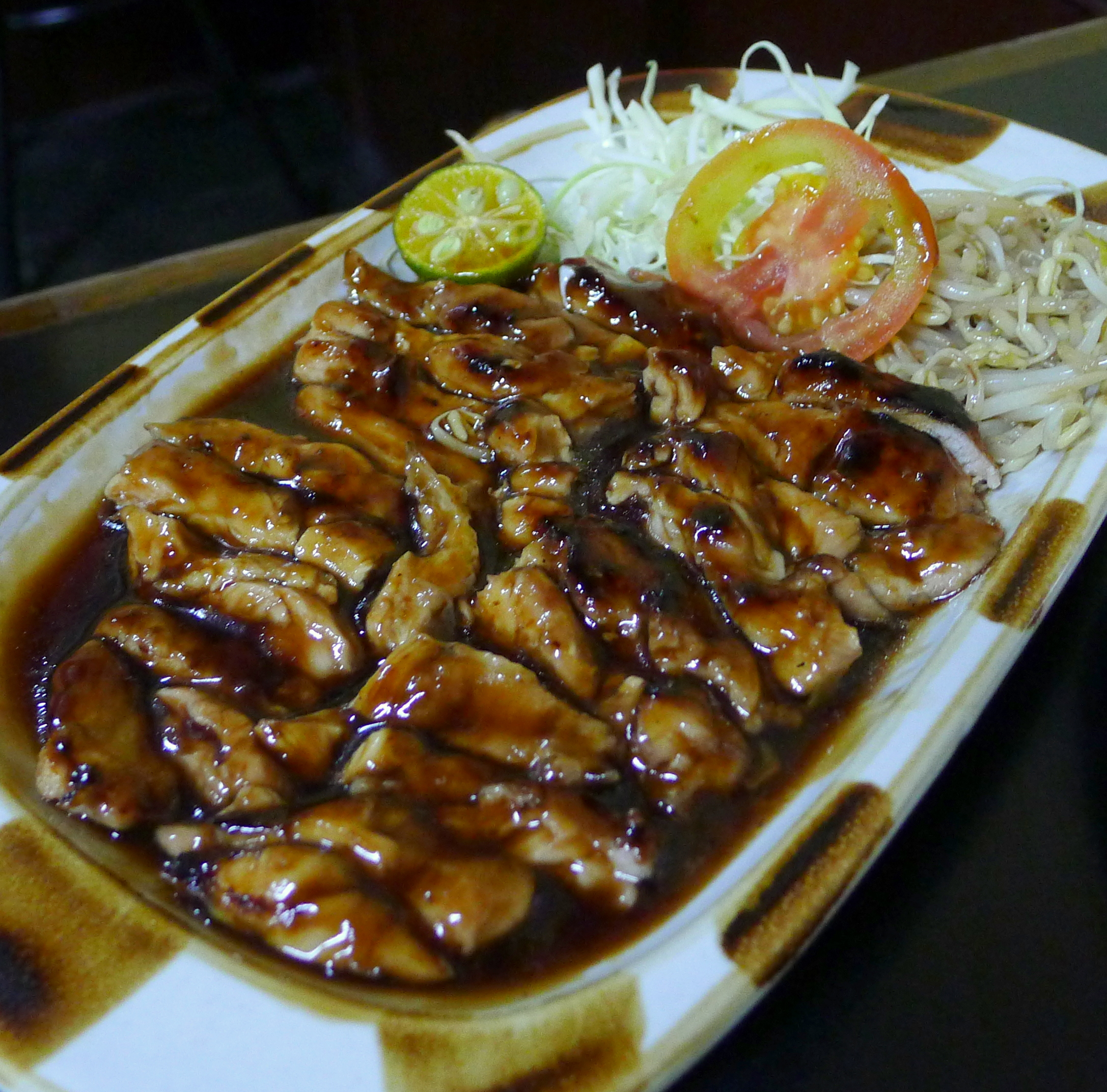 Chicken Teriyaki (P146.00)